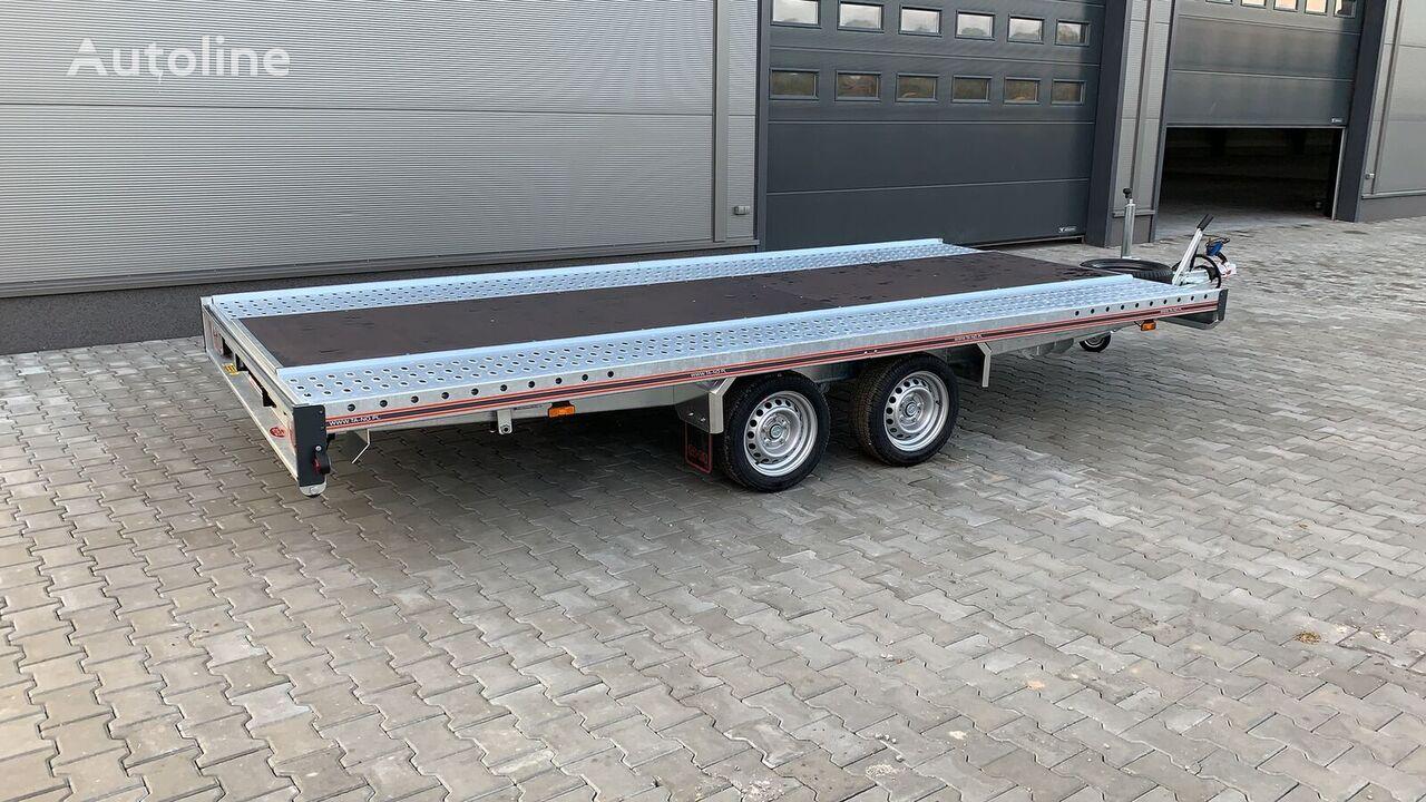 new TA-NO Laweta UNO 27.45 STD car transporter trailer