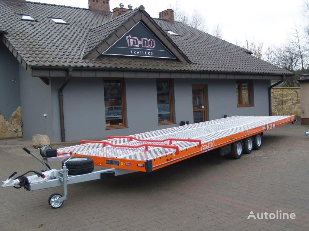new TA-NO TRIO 35.85 FT PREMIUM car transporter trailer