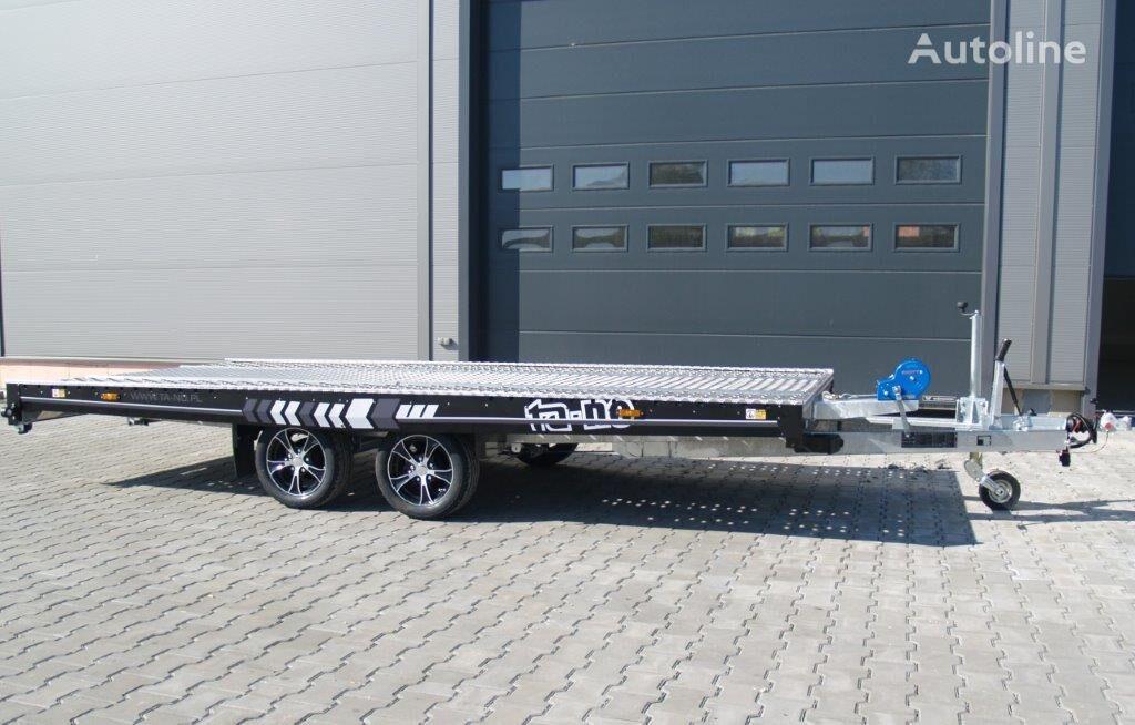 new TA-NO UNO 27.45 PREMIUM car transporter trailer