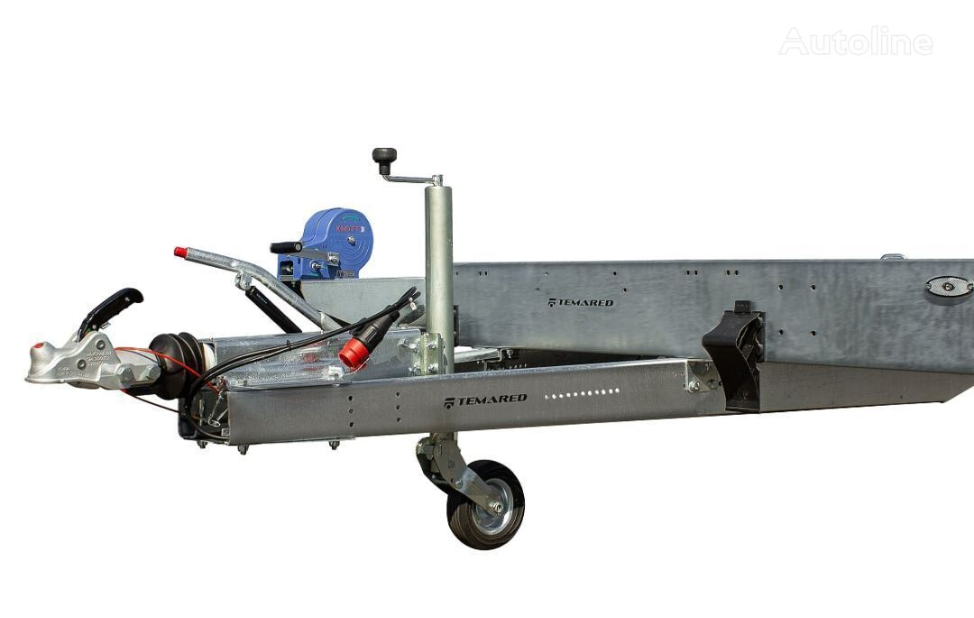 new TEMARED CARPLATFORM 5121 S car transporter trailer