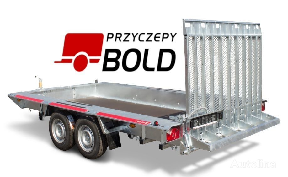 new TEMARED Temared BUILDER 4018 S car transporter trailer