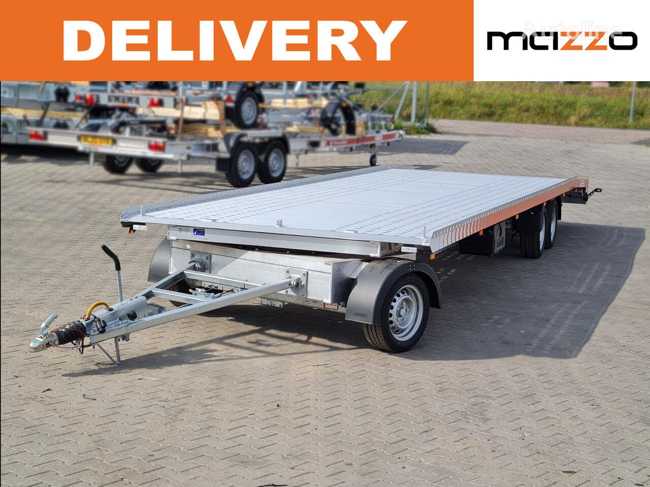 new Turntable Transporter 850 x 210cm ALU GVW 3500kg PREMIUM car transporter trailer