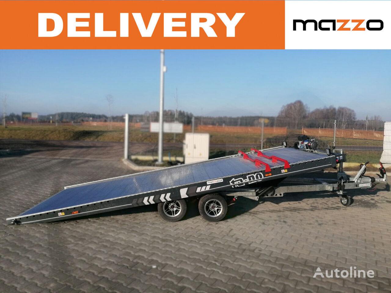new 30.50 PREMIUM 500x210cm 3000kg electric tilted trailer  car transporter trailer