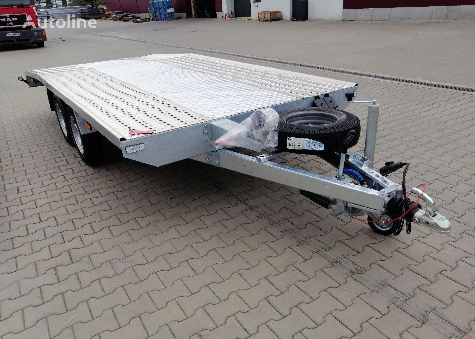 new Besttrailers REBEL (Jupiter) 5,0 x2,1 3000 kg przyczepa ze skośnym fragmentem car transporter trailer