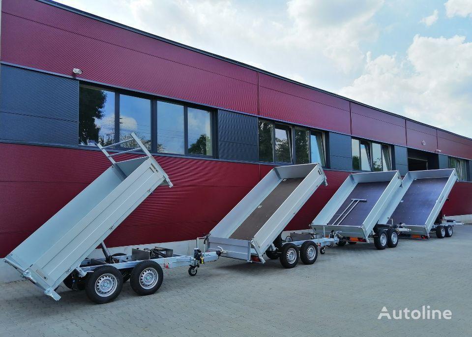new Besttrailers TIPPER (Kiper) car transporter trailer