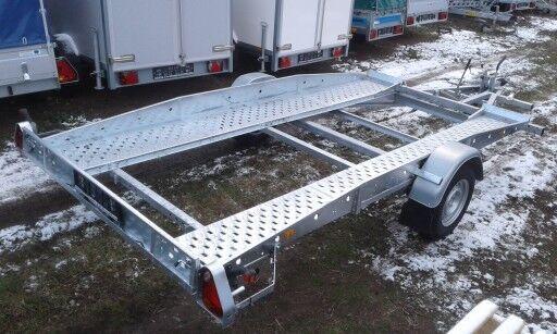 new Brenderup Przyczepa laweta  400x194 cm, 1300 kg car transporter trailer