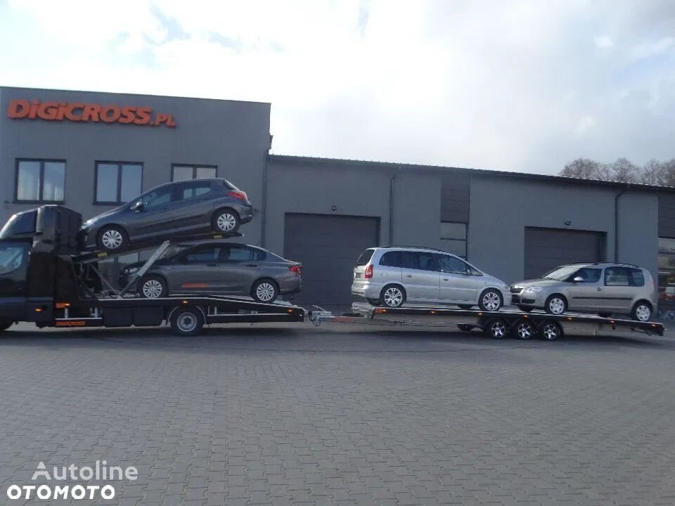 new DiGiCROSS DG353 8321AL-13 car transporter trailer
