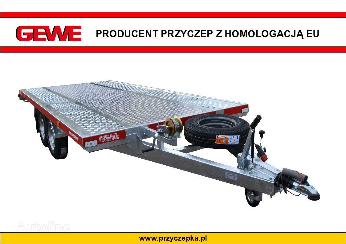 new GEWE Laweta L3500 C/1 SUPER MOCNA  car transporter trailer