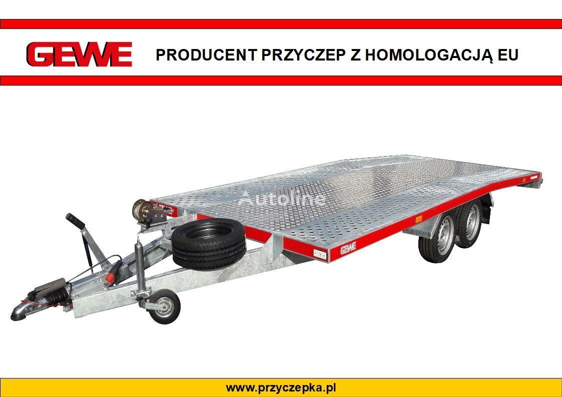 new GEWE Laweta L3500 D/1 super wytrzymała car transporter trailer