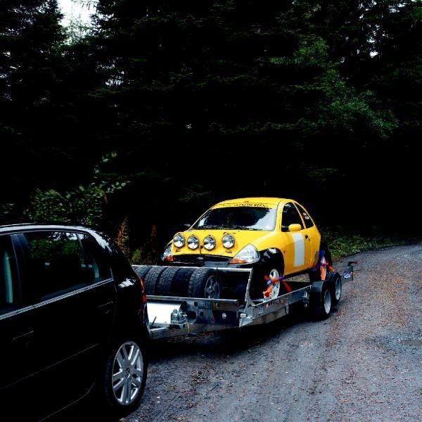 Ifor Williams CT136 car transporter trailer