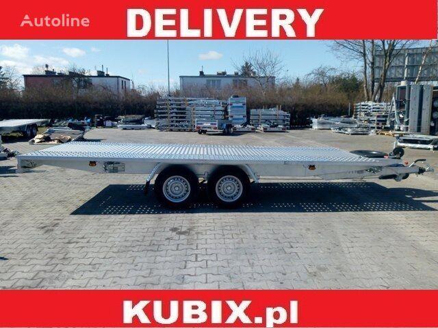 new KUBIX Przyczepa Mustang-Strong NT22 Mars blacha 5x2 o DMC 3000kg car transporter trailer