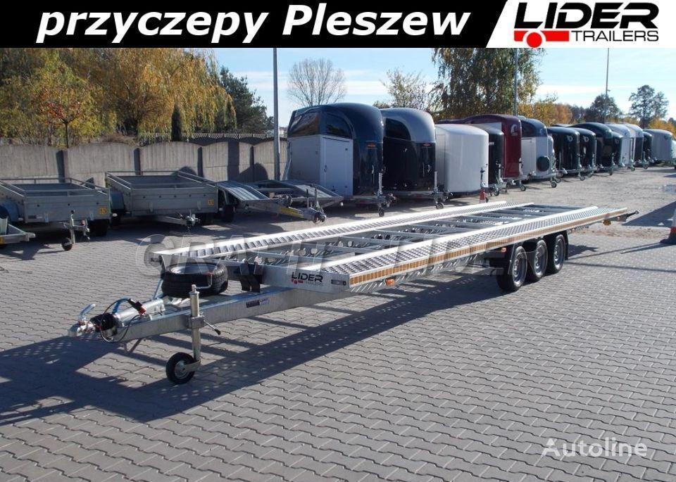 new LIDER lider-trailers LT-025 laweta na 2 auta 850x210cm ALU - STAL, do  car transporter trailer