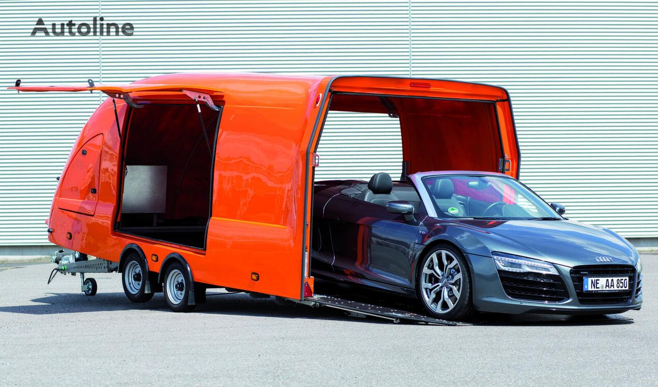 Przyczepa Laweta całkowicie zabudowana Przyczepa Autotransporter car transporter trailer