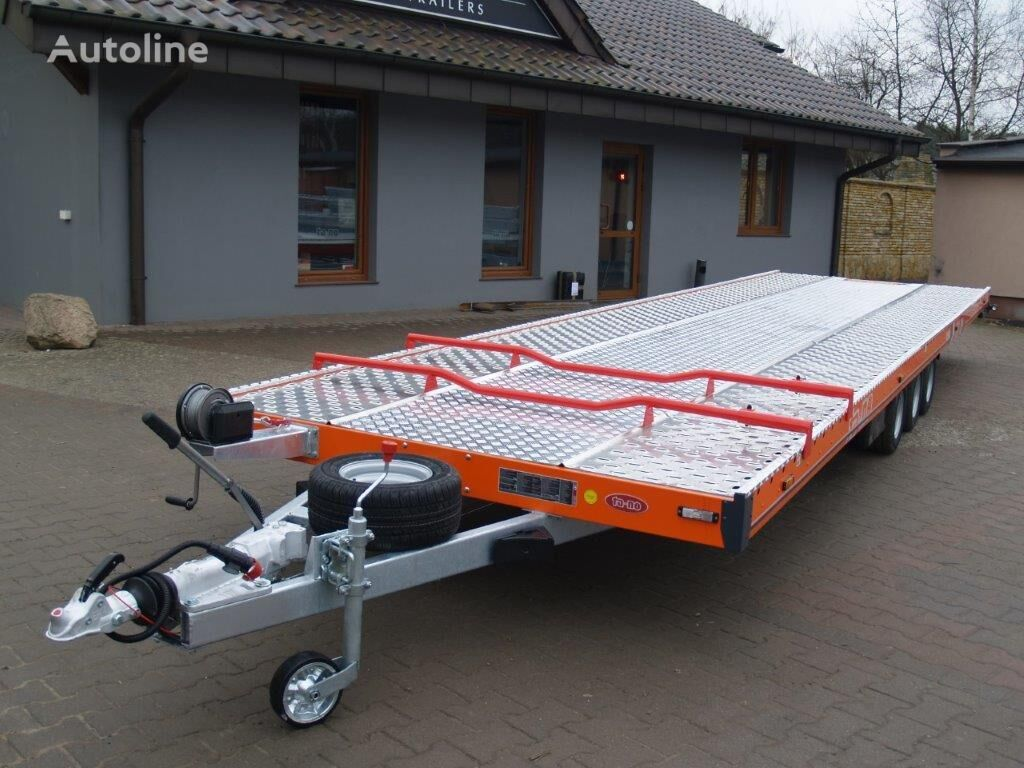 new TA-NO Autotransporter TRIO 35.85FT PREMIUM car transporter trailer