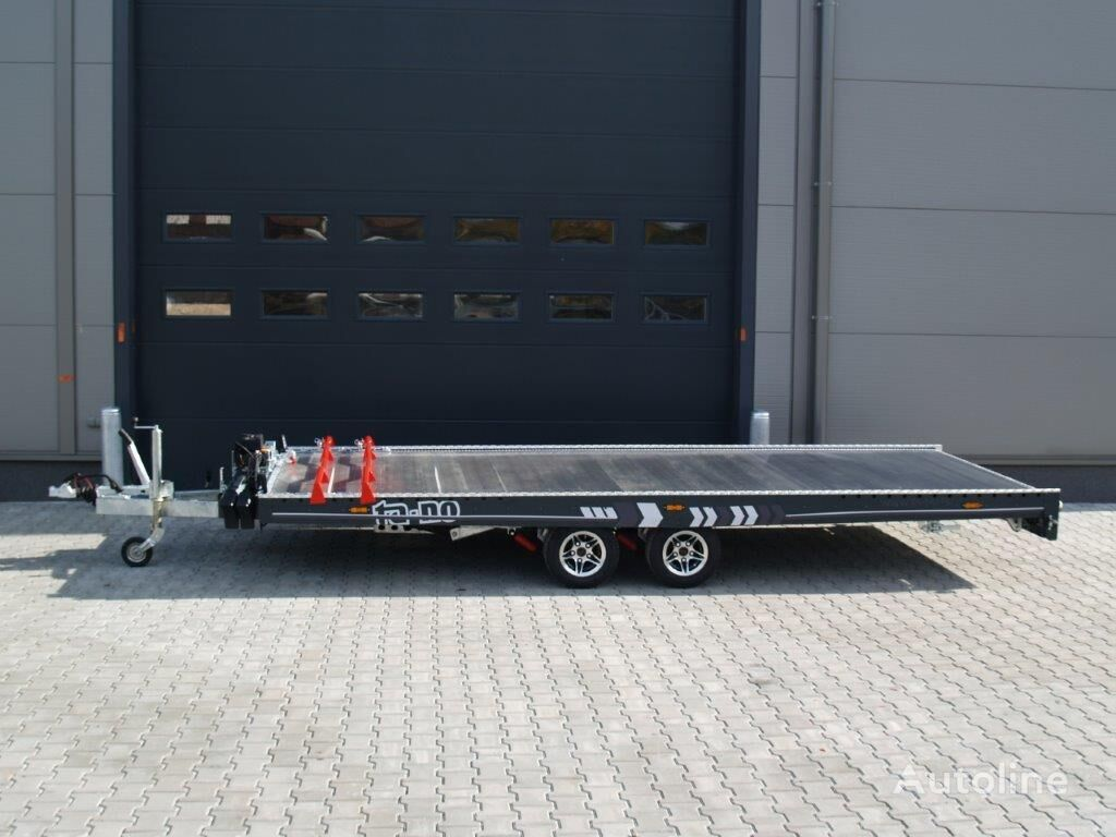 new TA-NO FORMULA 30.50 PREMIUM car transporter trailer