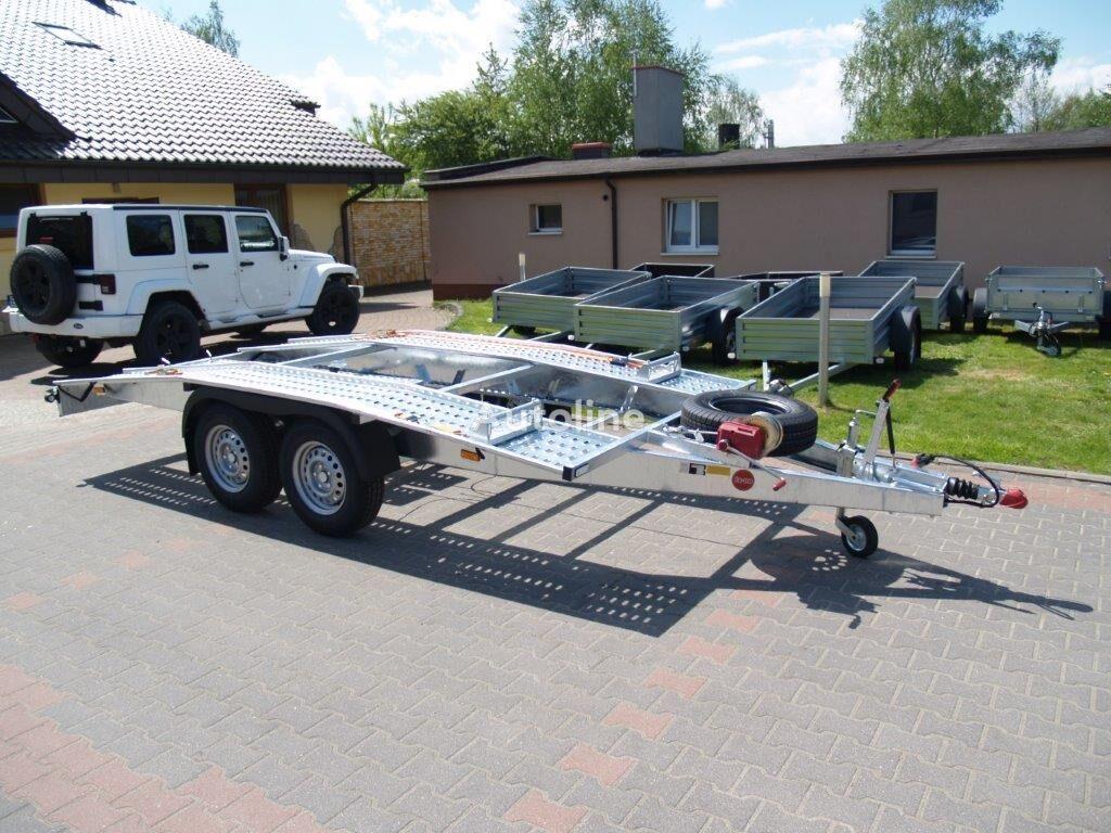 new TA-NO Laweta SWISS 27.45 car transporter trailer