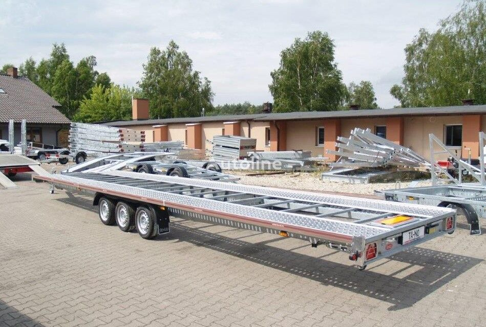 new TA-NO Laweta TRIO 35.85 FTSTD Standard car transporter trailer