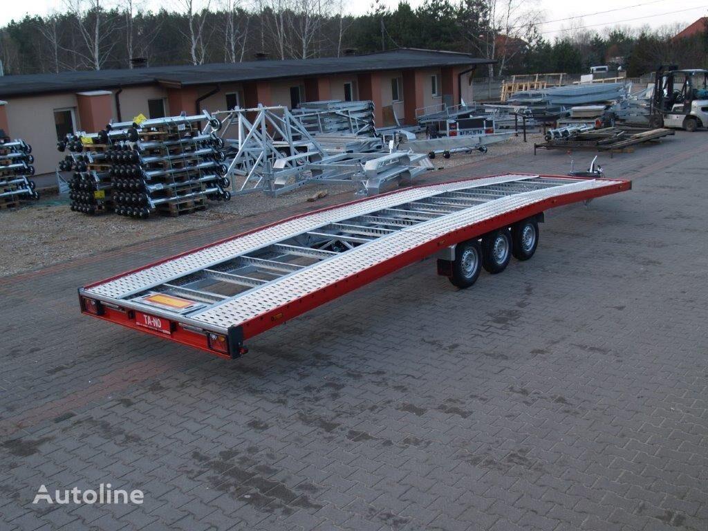 new TA-NO TRIO 35.85 PREMIUM car transporter trailer