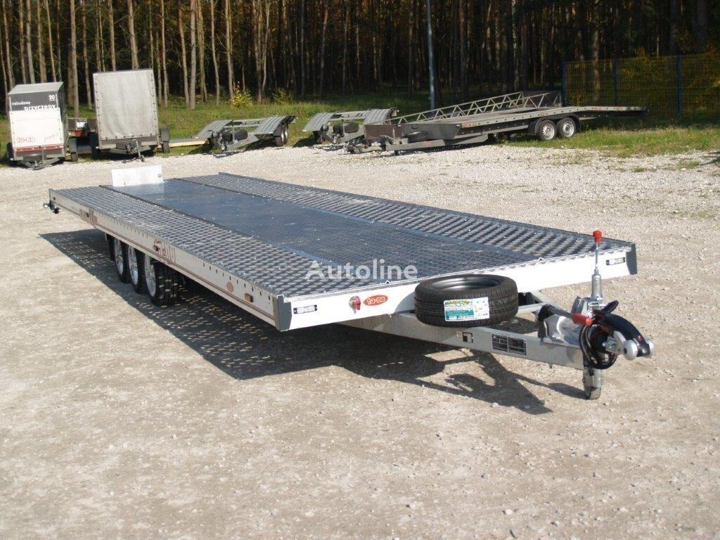 new TA-NO TRIO 35.90 FT PREMIUM car transporter trailer