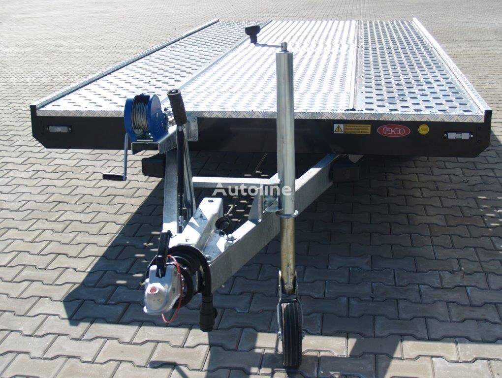 new TA-NO UNO 27.50 PREMIUM car transporter trailer