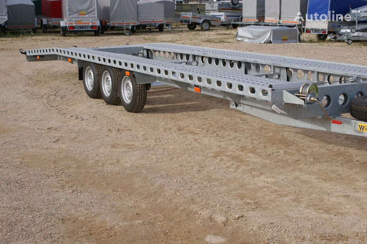 new Wiola car transporter trailer