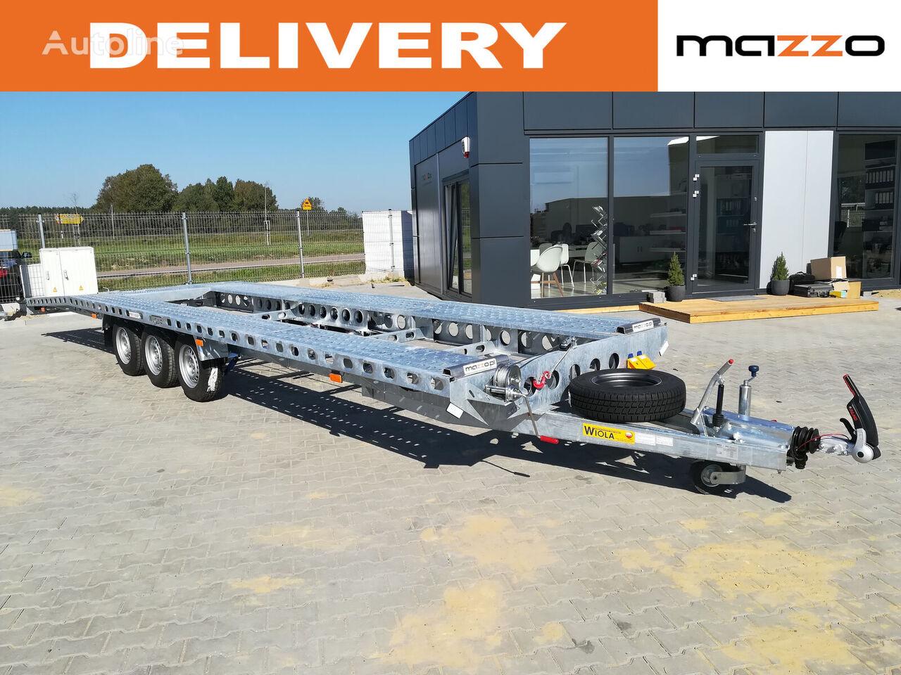 new Wiola L35G85 844x204 cm 3 axles 3500kg car transporter trailer