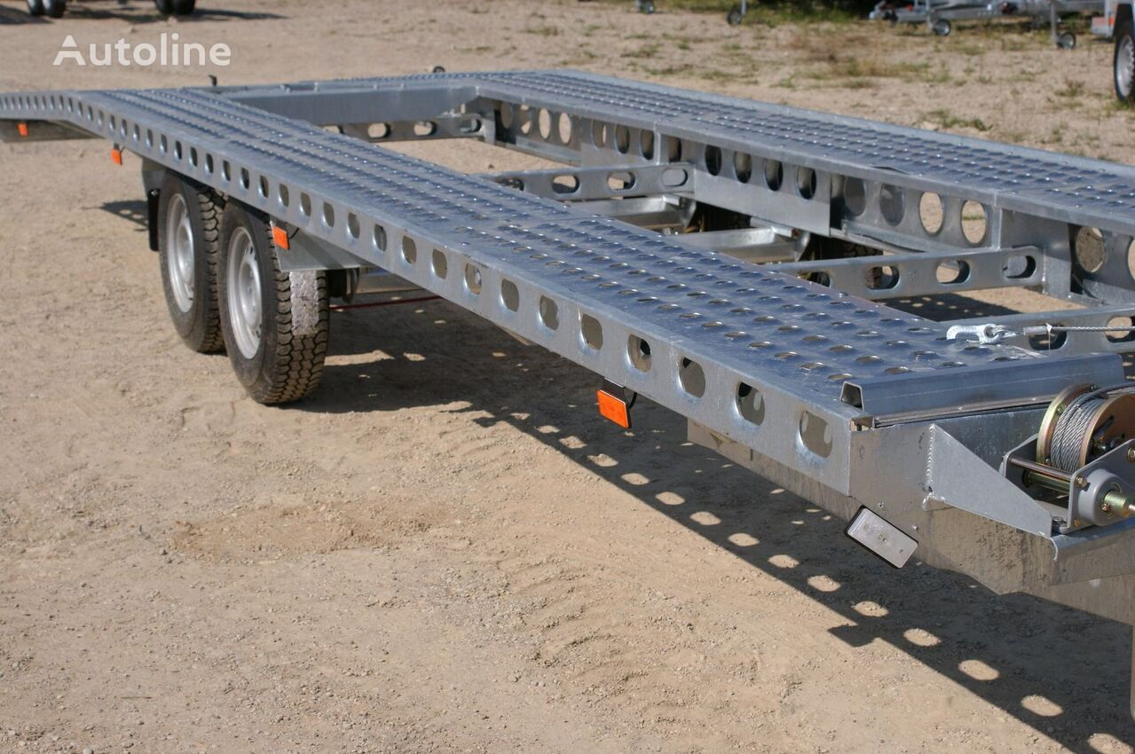 new Wiola L80 car transporter trailer
