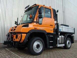 MERCEDES-BENZ Unimog U 318 WVF chassis trailer