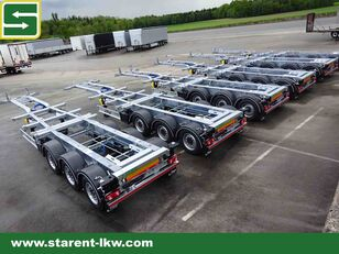 new FLIEGL Containerchassis 1x20 / 2x20 / 1x30 / 1x40 / 1x45 Highcube Goose chassis trailer