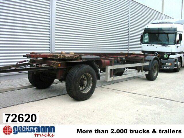 KRONE AZW 18 chassis trailer