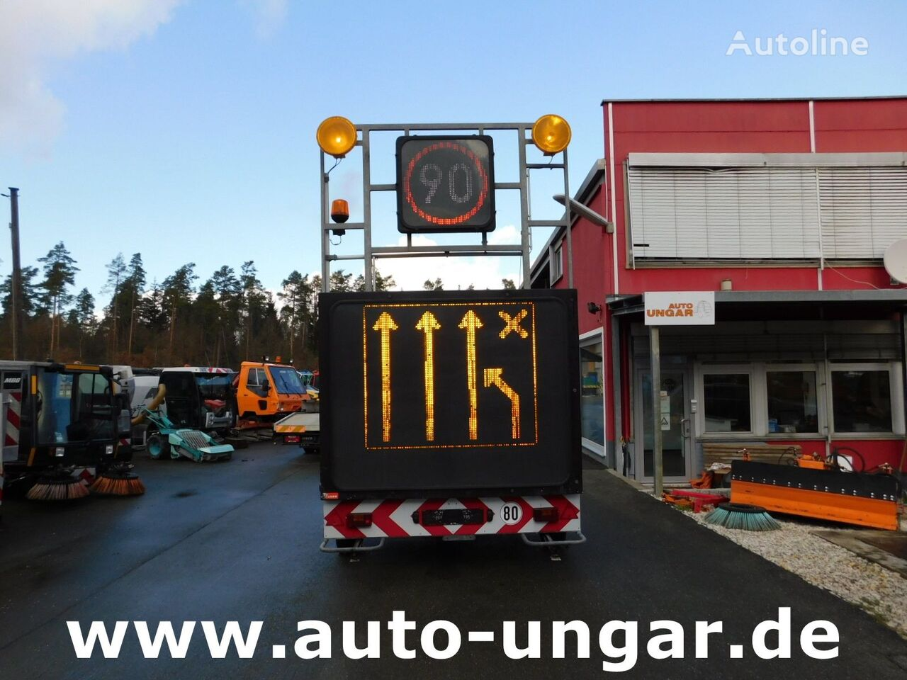 NISSEN A2LED-02-120  chassis trailer
