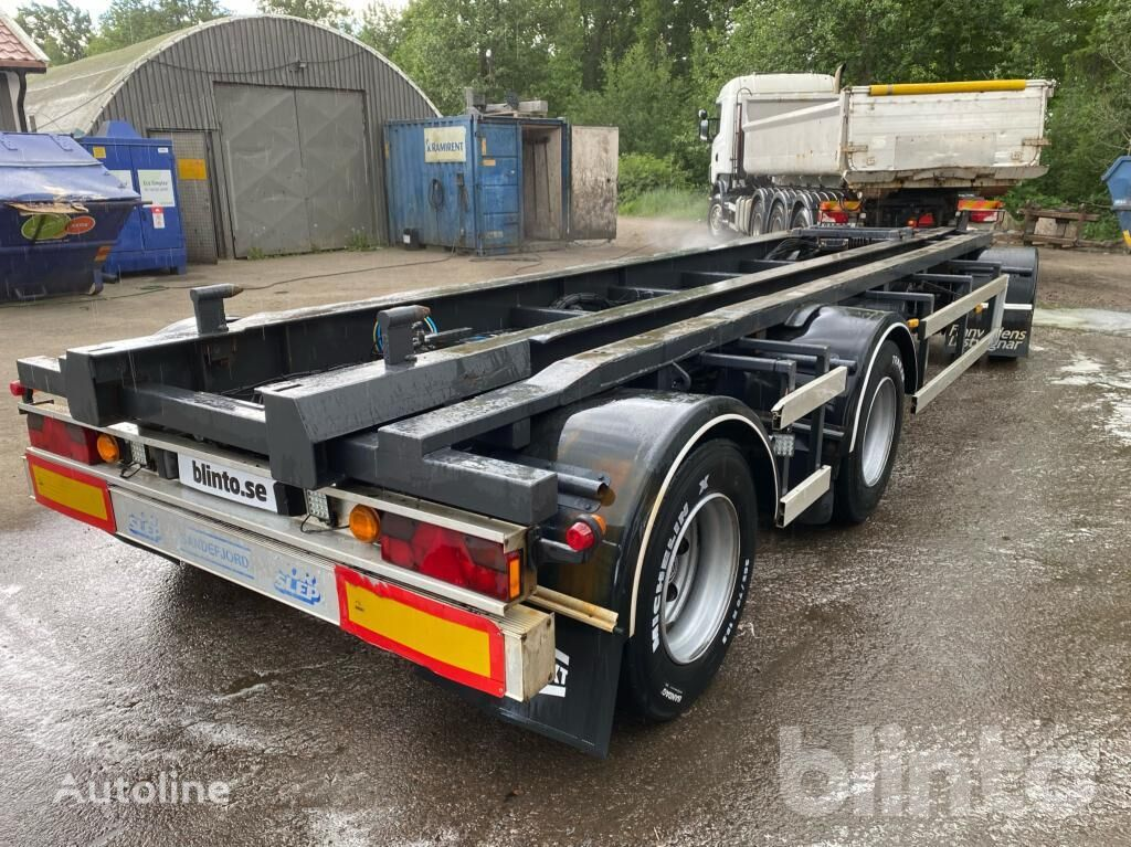 NOR SLEP SL-30K chassis trailer