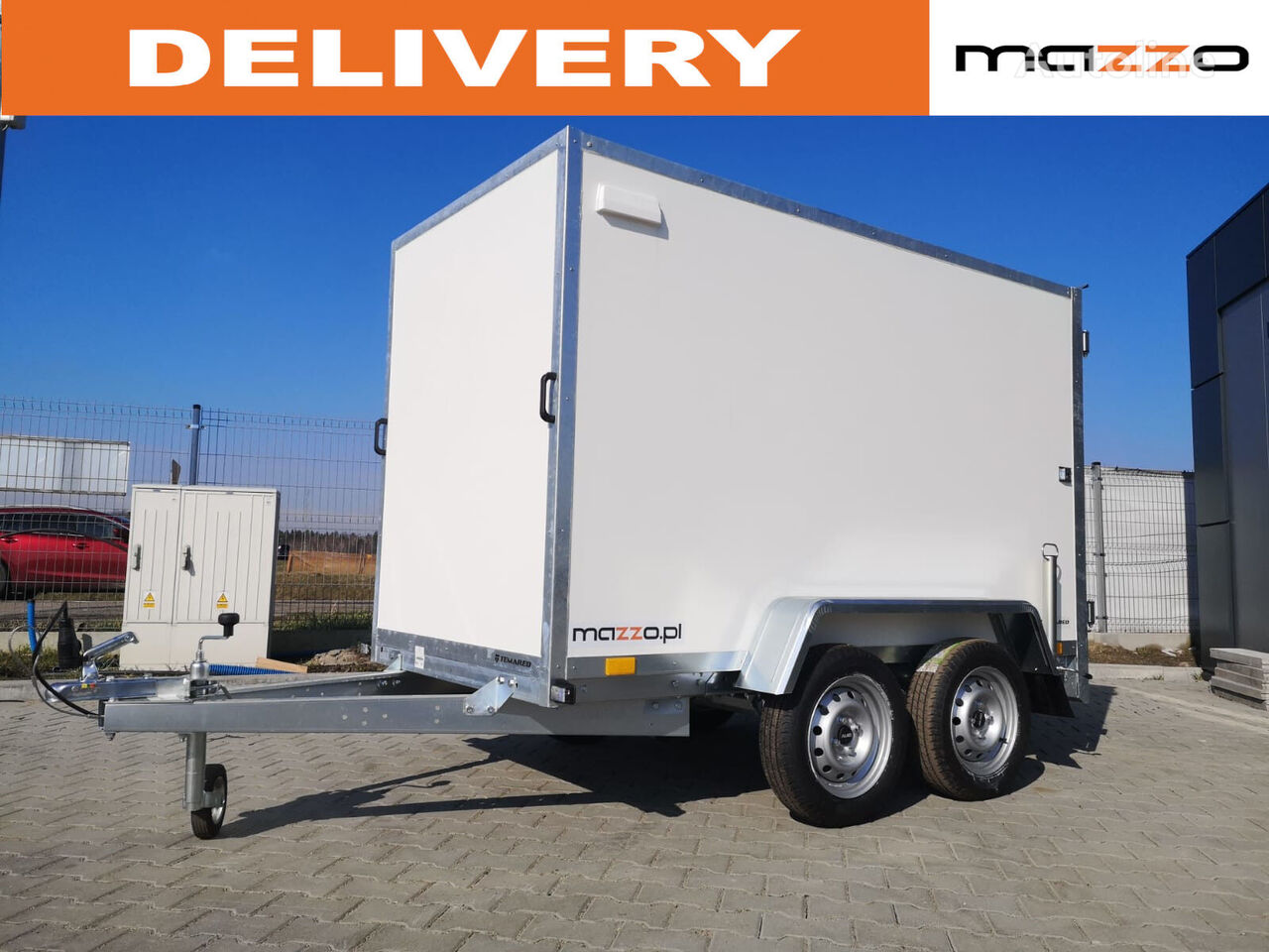 new BOX 2512/2  closed box trailer
