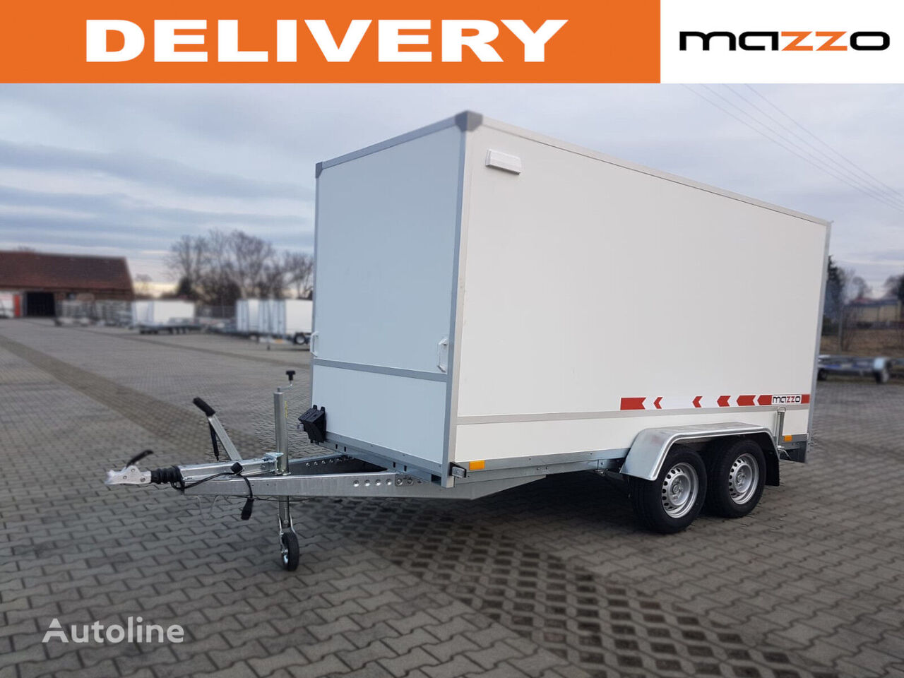 new F2741HT  closed box trailer