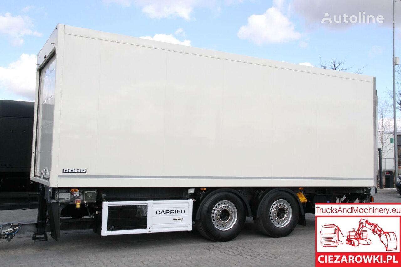 ROHR refirgerator , passing trailer m Carrier 850u , 18 EPAL closed box trailer