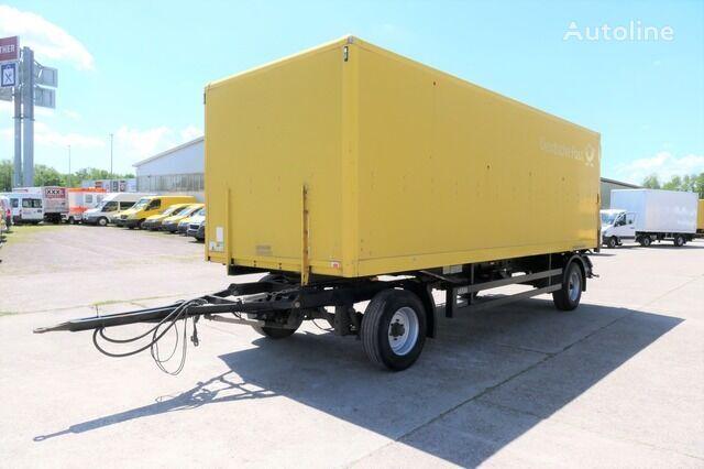 SAXAS AKD 71-12 Portaltüren closed box trailer