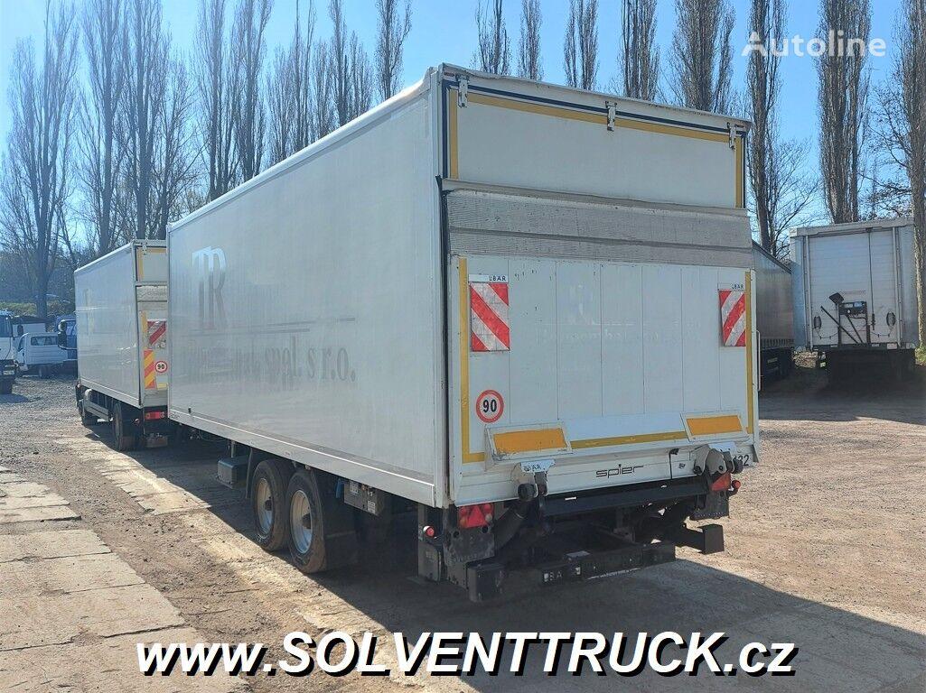 SPIER ZGL 255 closed box trailer