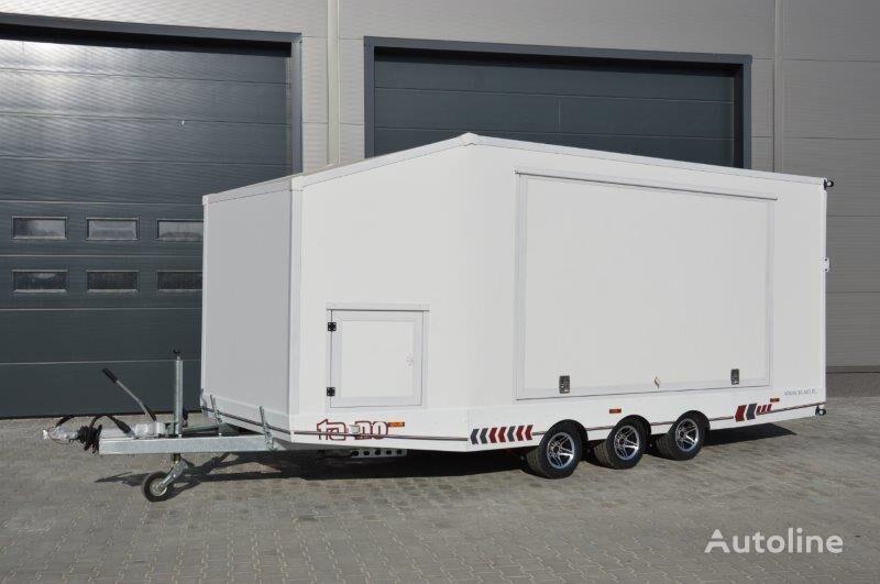 new TA-NO SPORT TRANSPORTER 55 PREMIUM closed box trailer