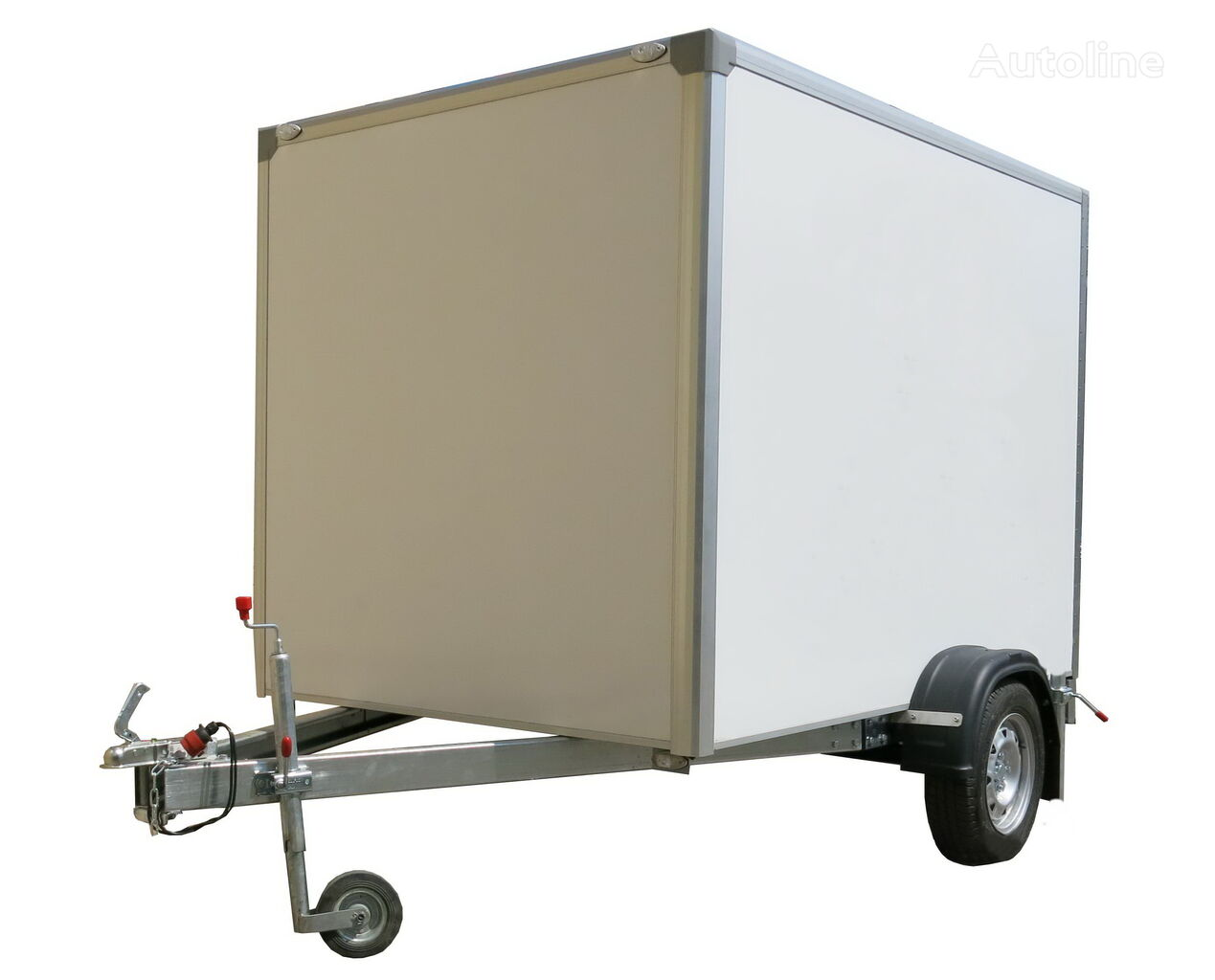 new ISTOK 3791M2 closed box trailer