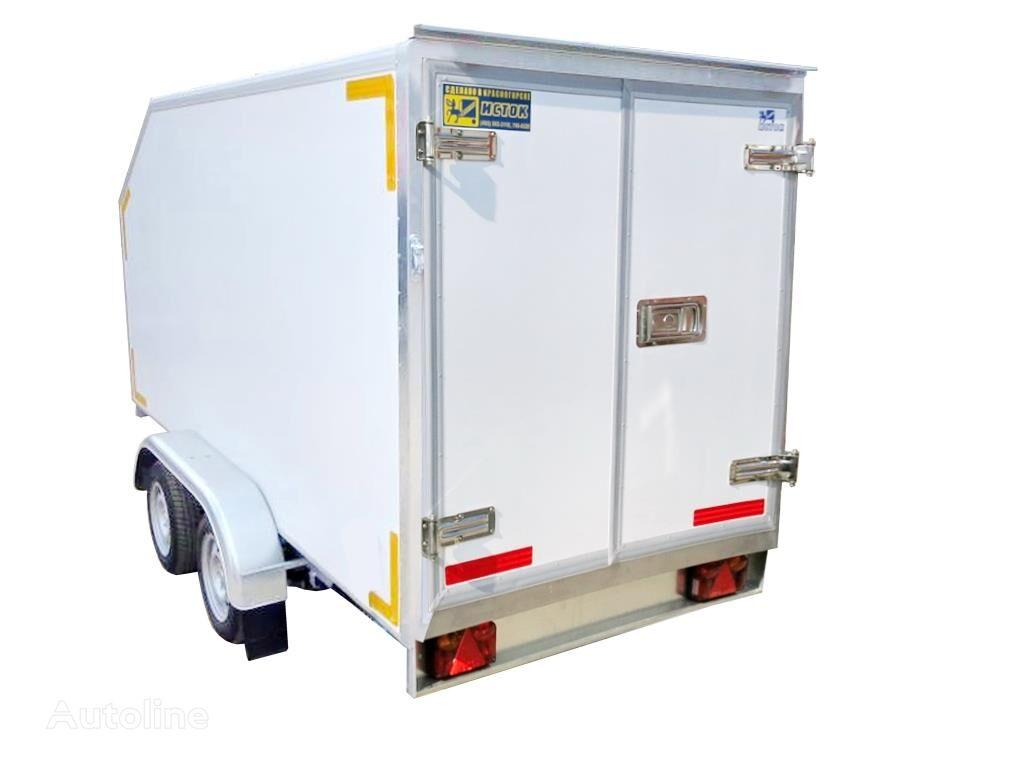 new ISTOK 3792M4 closed box trailer