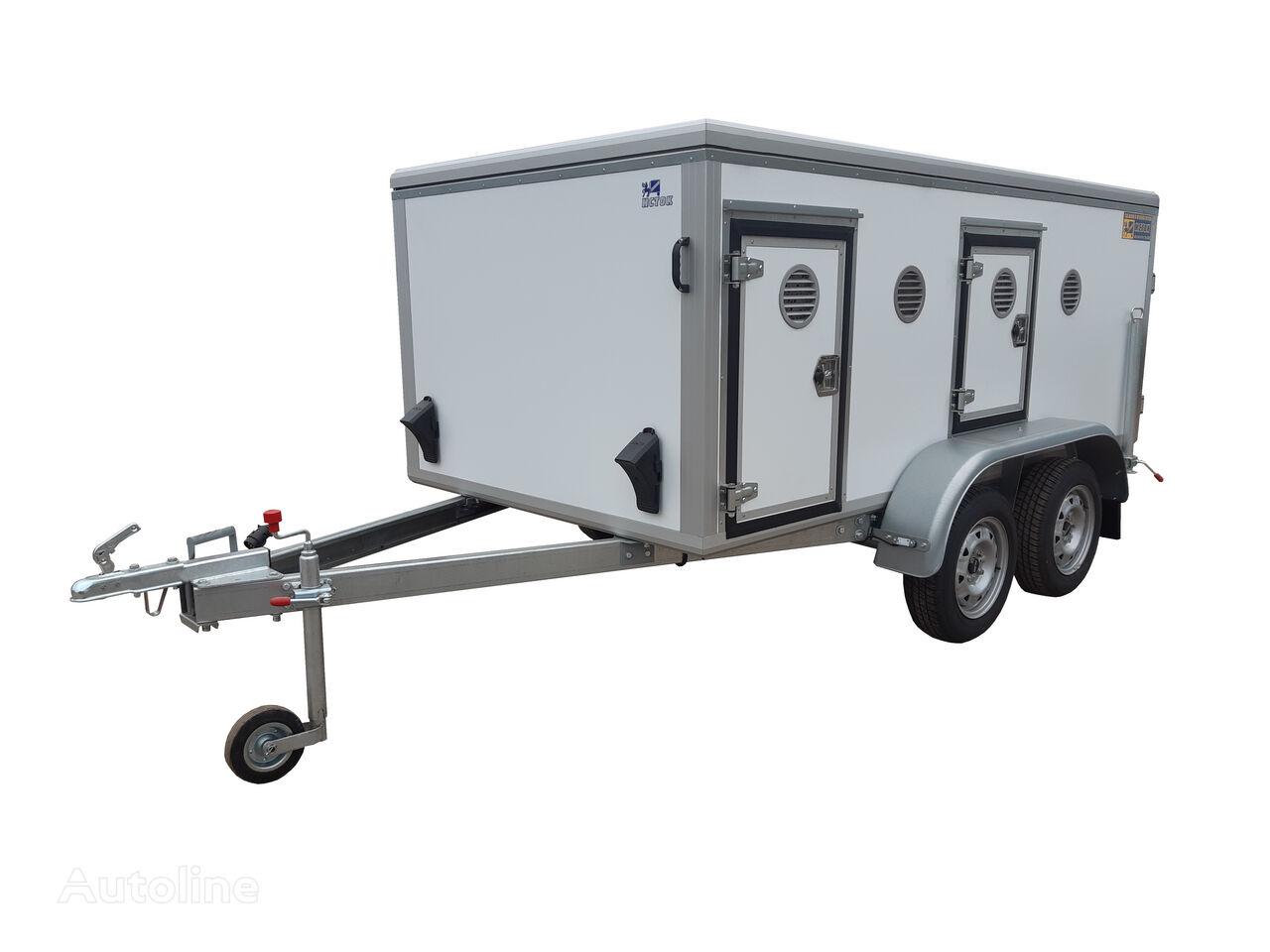 ISTOK ISTOK 3792M4 closed box trailer
