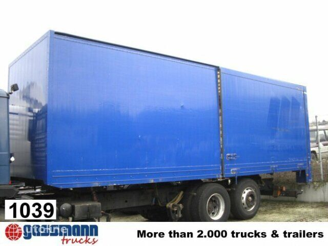 Andere Koffer closed box trailer