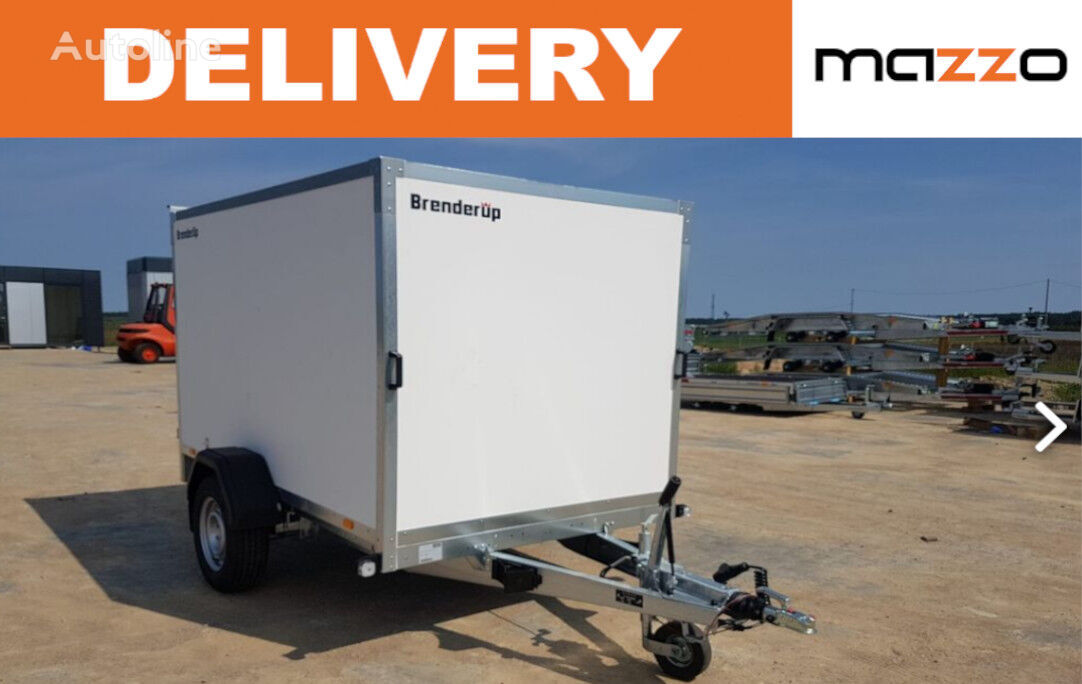 new Brenderup Cargo 7260 B + double rear door closed box trailer