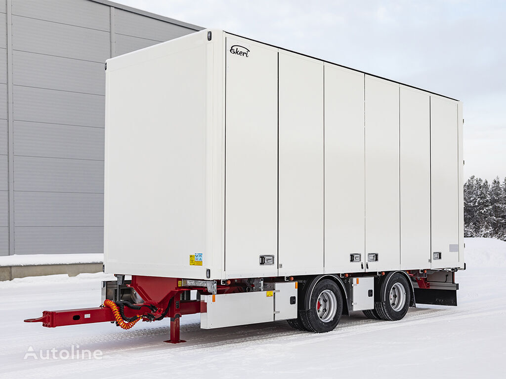 new EKERI closed box trailer