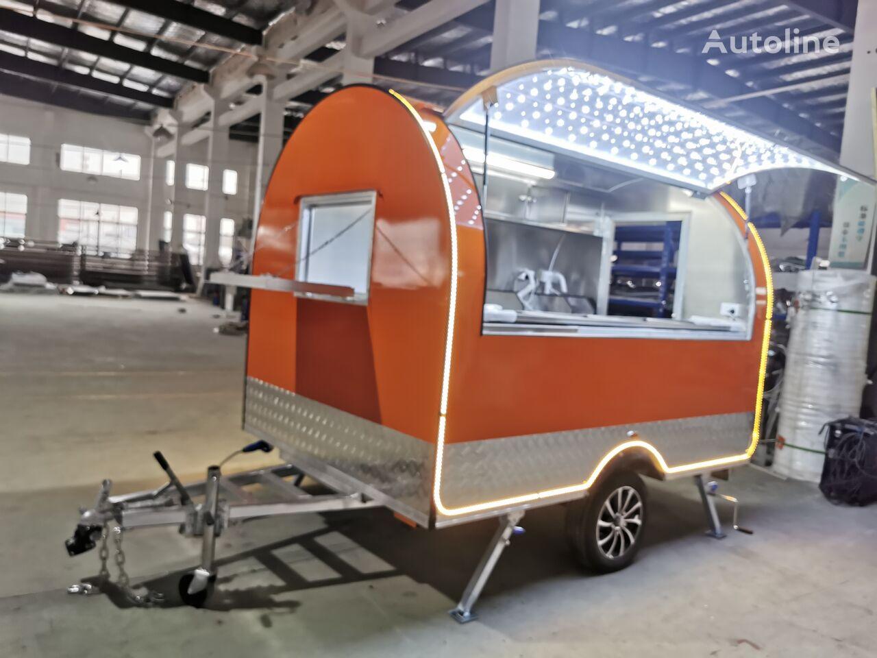 new ERZODA Catering Trailer   Food Truck   Concession trailer   Food Traile closed box trailer