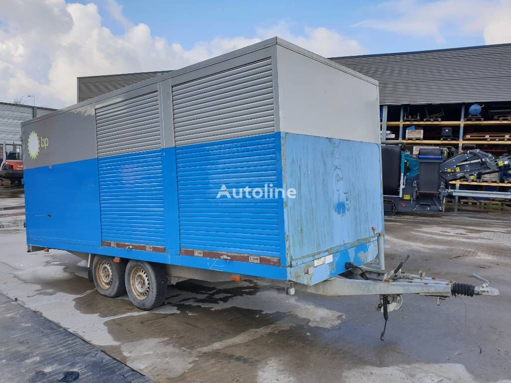 HAPERT AL3500, HAPA-1300, oil service wagon closed box trailer