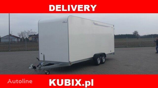 new INSULATED TRAILER TFS 600T.01 Furgon izolowany TOMPLAN 6x2x2,1 D closed box trailer