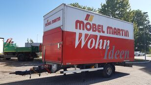 Junge GERMAN BREIF closed box trailer
