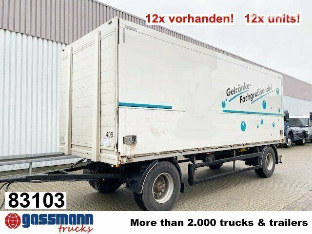 ORTEN PRASQ 18 Getränkeanhänger PRASQ 18 Getränkeanhänger, Stapleraufn closed box trailer