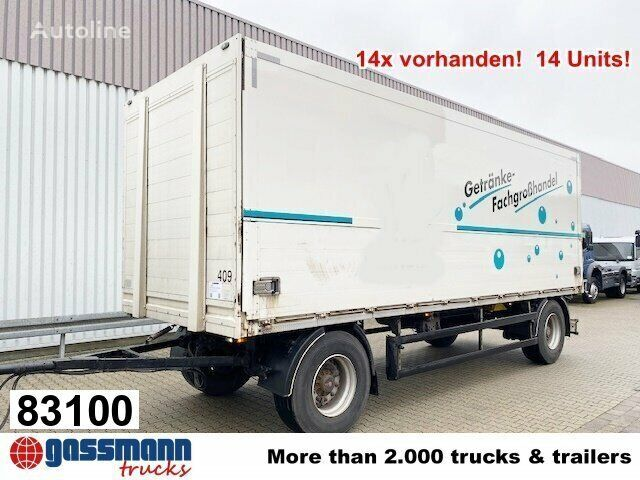 ORTEN PRASQ 18, Stapleraufn closed box trailer